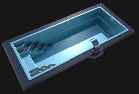 Стеклопластиковая чаша LAGOS Sol- NEW